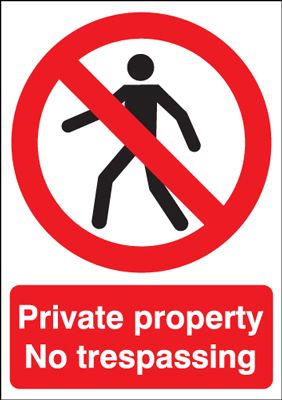 This Is Private Property Signs Uk
