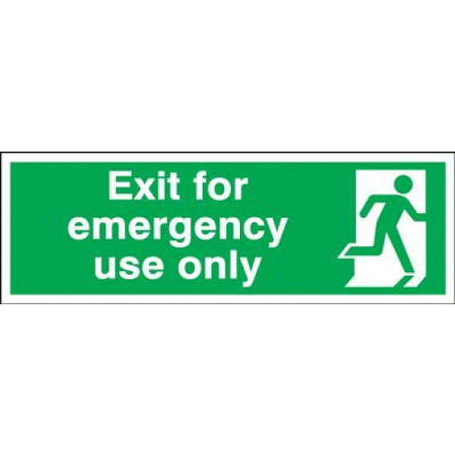 Exit Emergency Use Only