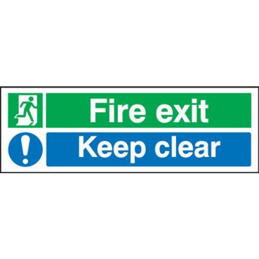 Fire Exit/Keep Clear