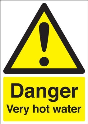 Warning Fork Lift Trucks Safety Sign - Portrait