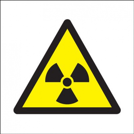 Radiation Symbols Safety Sign