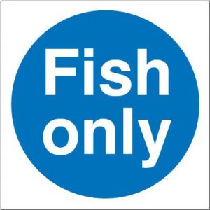 Fish Only Self Adhesive