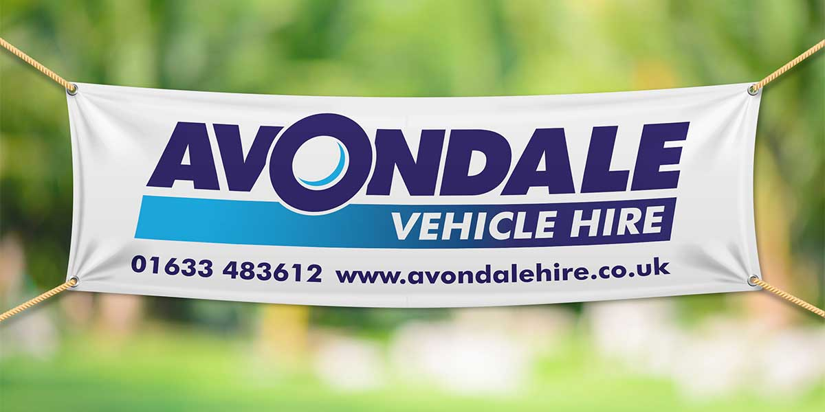 Blitz Media Print Banner Avondale Vehicle Hire