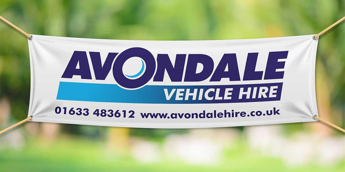Blitz Media Print Banner Avondale Vehicle Hire