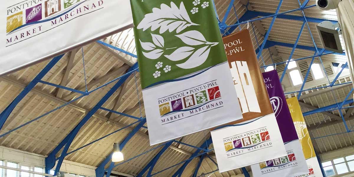 Blitz Media Print Banner Pontypool Market