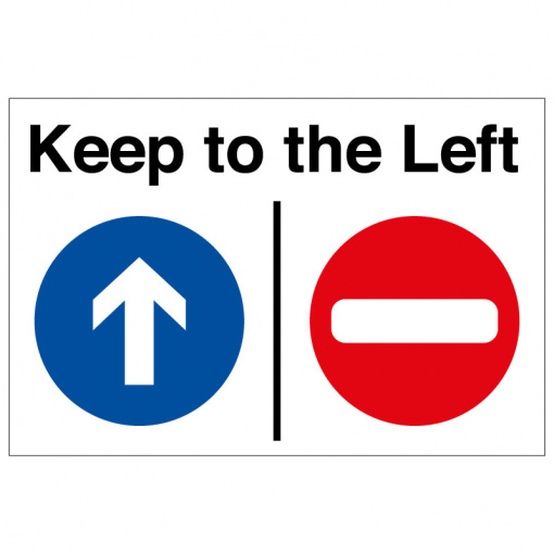 BLZ-COV19-19 Keep to the left