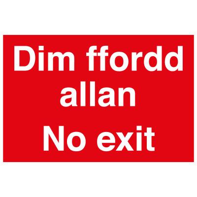 BLZ-COV19-32 No Exit Welsh