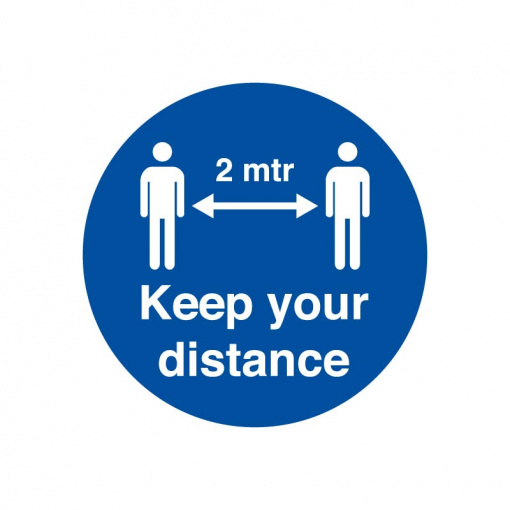 BLZ-COV19 35 Keep your distance
