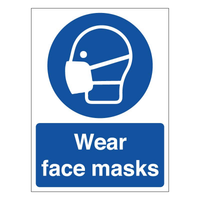 BLZ-COV19-42 Wear face masks